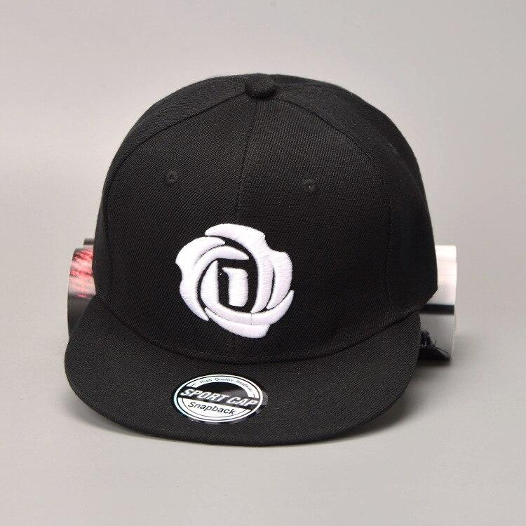 2018 New American Derrick Rose Baseball Cap Men Snapback Hip Hop Cap Black Red Hat Lovers Sports