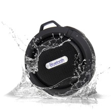 Ip65 Waterproof Mini Wireless Bluetooth Speaker usb Portable shower speakers mic handfree calls for xiaomi iphone android phone(China)