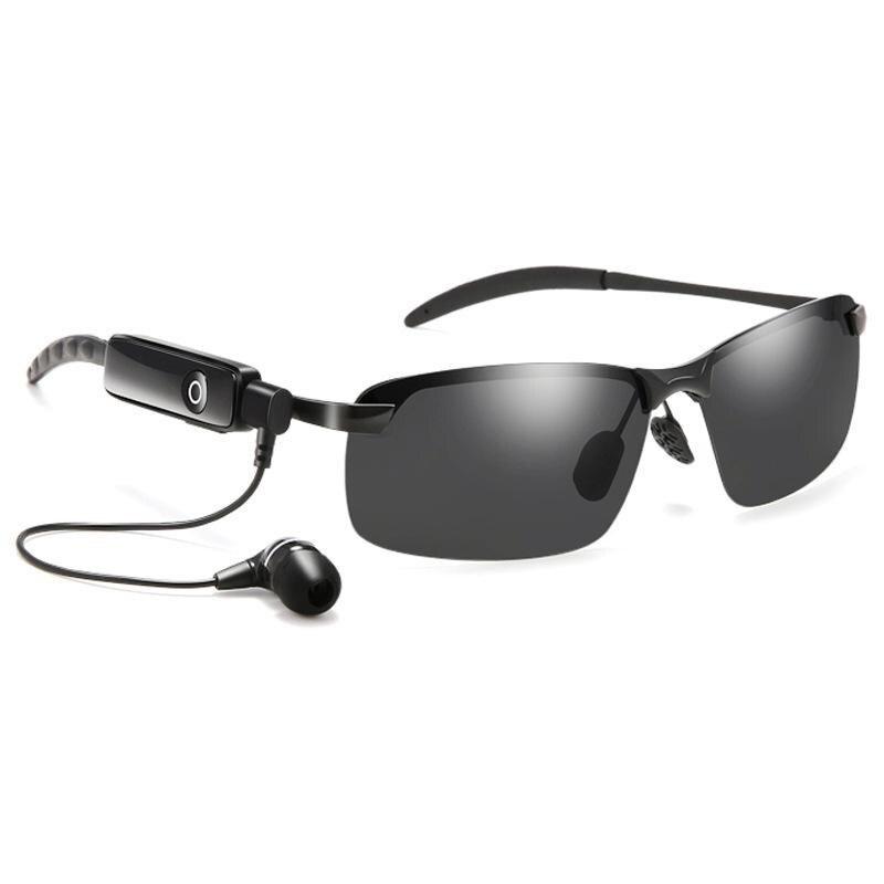 Vazrobe Bluetooth lunettes de soleil hommes femmes lunettes de conduite polarisées prendre appel téléphonique lunettes stéréo musique pilote lunettes de soleil