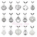 1PC Silver Plated Cages Harmony Bola Cages Mix Wholesale For 18mm Angel Caller Locket Pendant Pregnancy Gift Antique Bola Bell