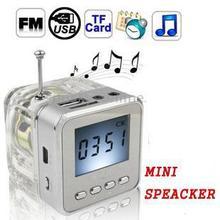NIZHI TT-028 AFFICHAGE LED MINI HAUT-PARLEUR USB FM SD MP3 PC DA0860A1 # M4