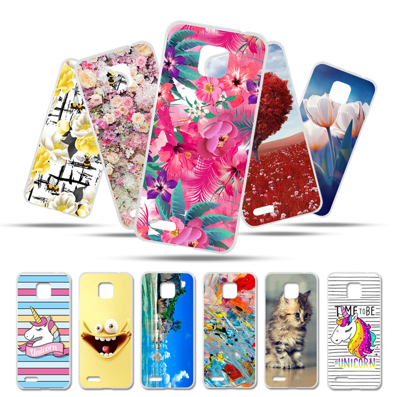 Bolomboy Painted Case For Ulefone Note 7 Case Silicone Soft TPU Cases For Ulefone Note7 Cover Wildflowers Cute Animal Bags