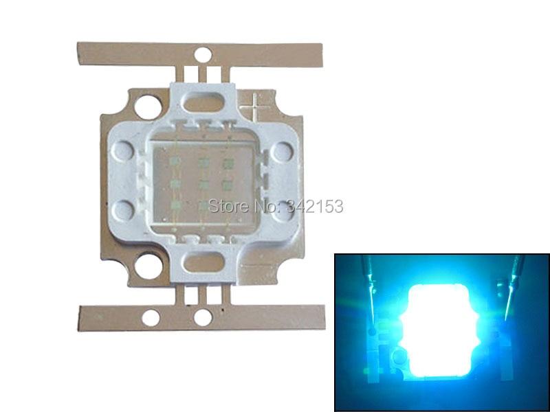 5PCS 10W 900LM Cyan 490nm LED Light 4PCS Green 520nm + 5PCS Royal Blue 455nm 9-11V For Fish Tank Aquarium Decoration Lighting diy 10w 6000 6500k 800 900lm white light 9 led module dc 9 11v 3 pack