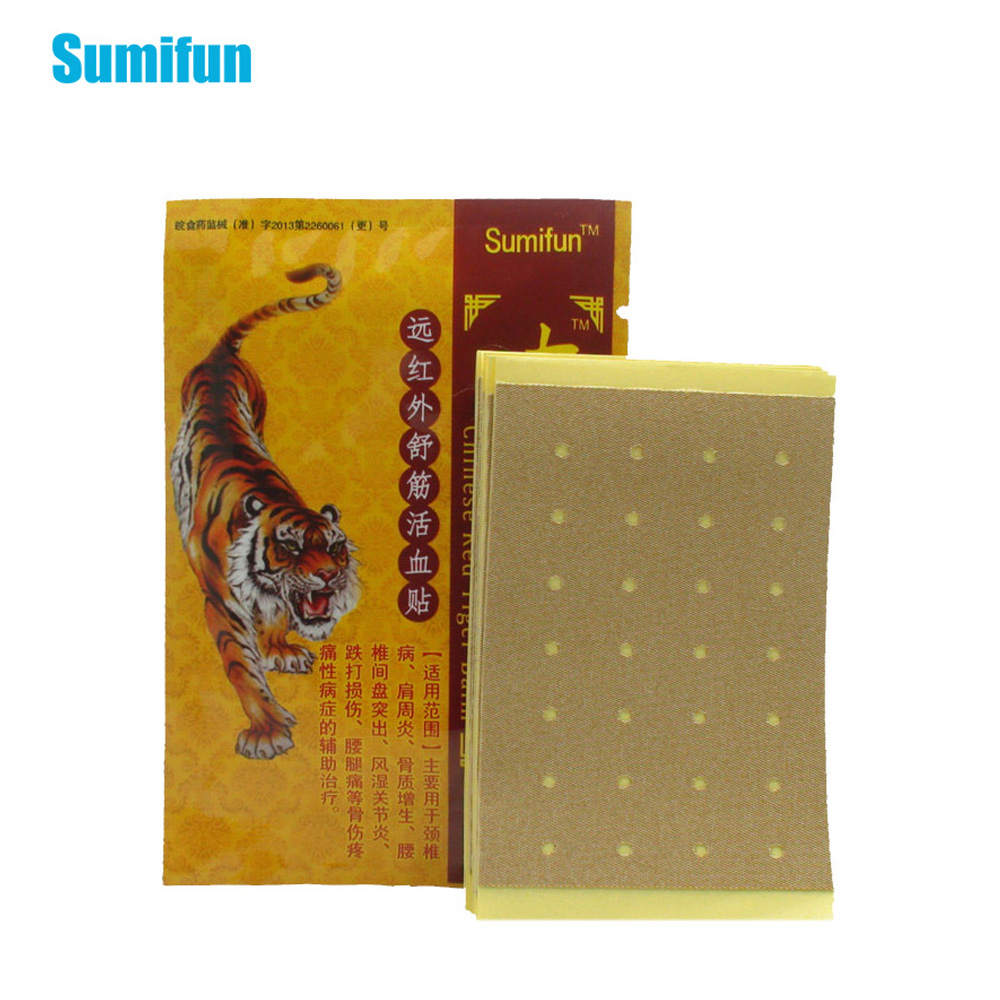 48Pcs Tiger Balm Pain Relief Patch Chinese Back Pain Plaster Heat Pain Relief Health Care Medical Plaster Body K00106