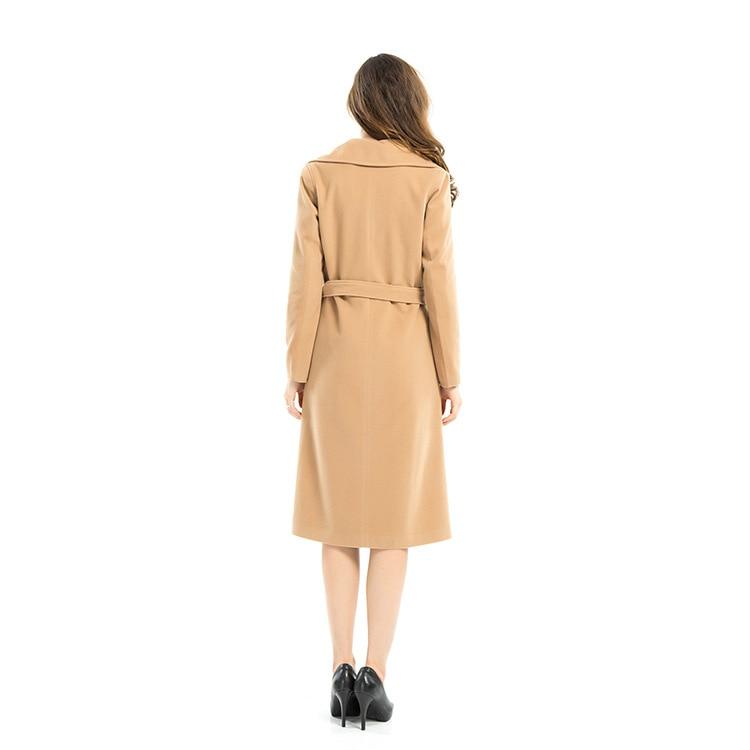 Hiver Manteau Pour Cher Coat Manteaux Pas Femmes Kaki Trench qECZ8w