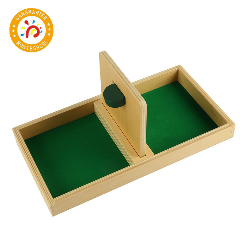 Montessori Kids Toy High-Quality Imbucare Board With Knit Ball Wood Preschool Training