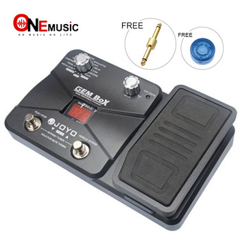 Free Shipping JOYO GEM Box Multi-Effect Processor 8 kind Effect Modules & 60 Effect Types.+Free Connector