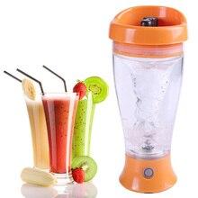 450 ml elektrische protein shaker mixer wasserflasche automatische bewegung vortex tornado bpa frei abnehmbare smart mixer cup