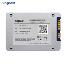 Kingfast F9 model 7mm ultra-thin 2.5″ 256GB SSD/HDD SATAIII inside Strong State laborious disk with cache for laptop computer&desktop/server