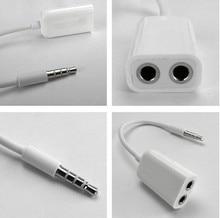 1000Pcs Lot 3 5mm 1 to 2 Stereo Audio Headphone Headset Earphones Splitter Adapter font b