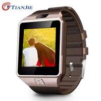 Inteligentny zegarek DZ09 new arrival wysokiej jakości zegarek Bluetooth smart Z Kamerą Dla Android smartwatch mężczyźni i kobiety