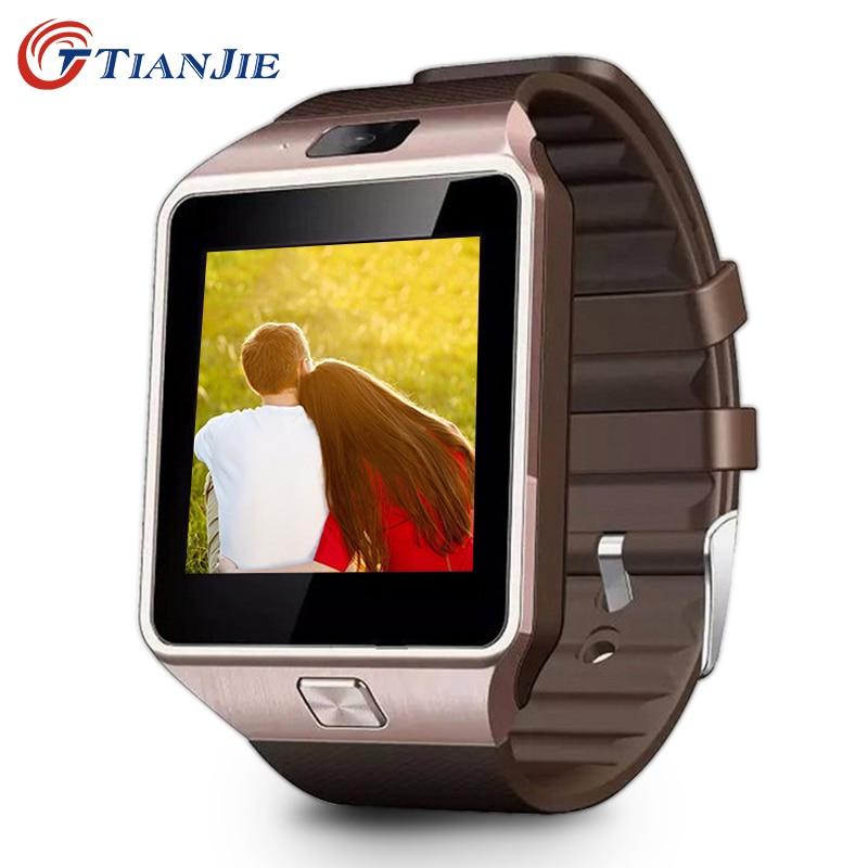 imágenes para Reloj inteligente DZ09 nueva llegada de la alta calidad Bluetooth reloj inteligente Con Cámara Para Android smartwatch hombres y mujeres