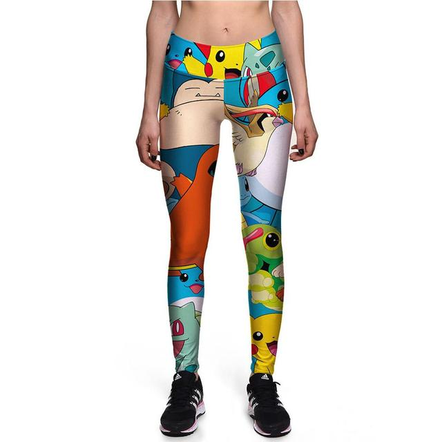 Manufacturers OEM CARTOON Baby High Waist Band Yoga Pants