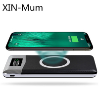 Wireless Charging Mobile Power QI Fast Charger for Iphone X Charging Treasure
