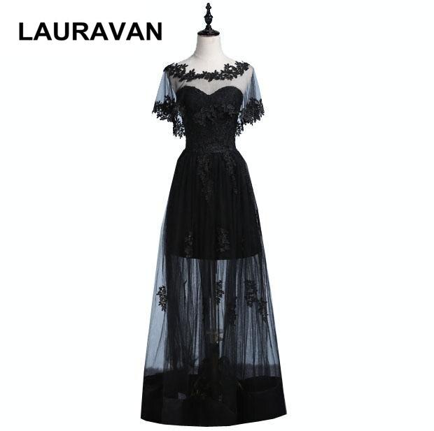 Formel noir chaud retour à l'école courte chérie élégante fête robes de demoiselle d'honneur avec wrap 2019 robe de bal robe femmes