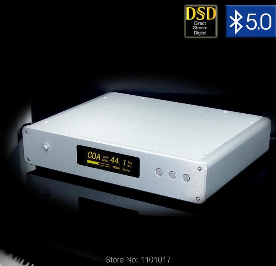Weiliang Audio 2019 DC300 Dual ES9038PRO DSD equilibrado decodificador HIFI EXQUIS Amanero I2S DAC USB Bluetooth 5,0 APTX-HD con control remoto