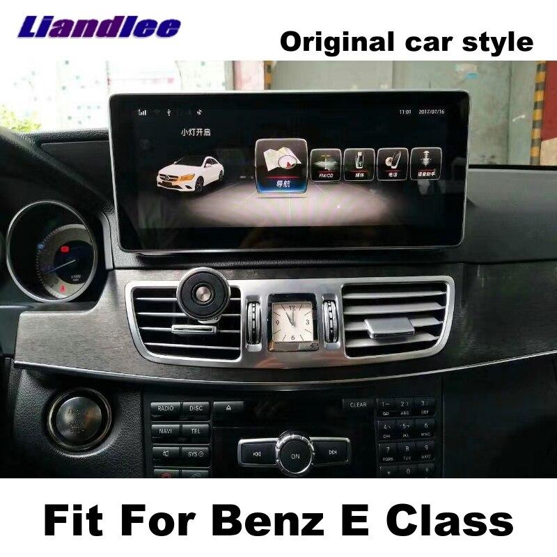 Liandlee Car Multimedia Player NAVI Per Mercedes Benz MB Classe E W212 2009 ~ 2016 sistema Originale dell'automobile Radio Stereo Navigazione GPS