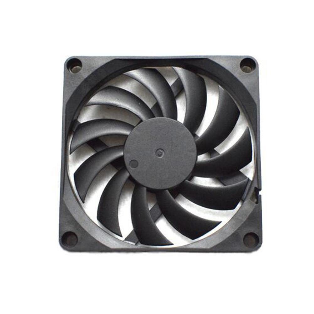 3000RPM 80mm DC 5V 2 Pin Silent PC Computer Case Cooling Fan Cooler Radiator
