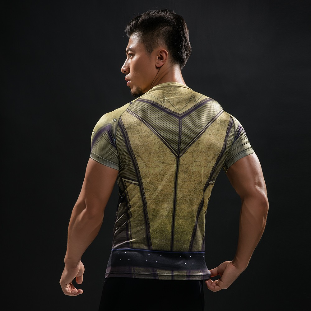 Punisher 3D Printed T-shirts Men Compression Shirts Long Sleeve Cosplay Costume crossfit fitness Clothing Tops Male Black Friday 47