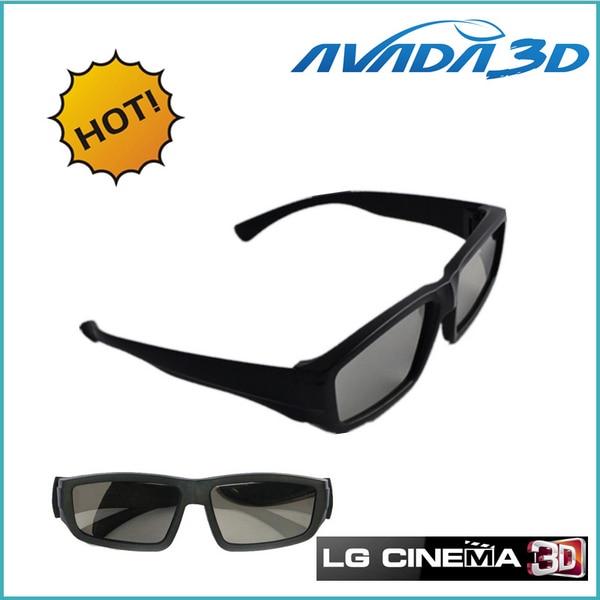 Free shipping wholesale 10pcs/Lot Circular Polarized 3D Glasses Passive