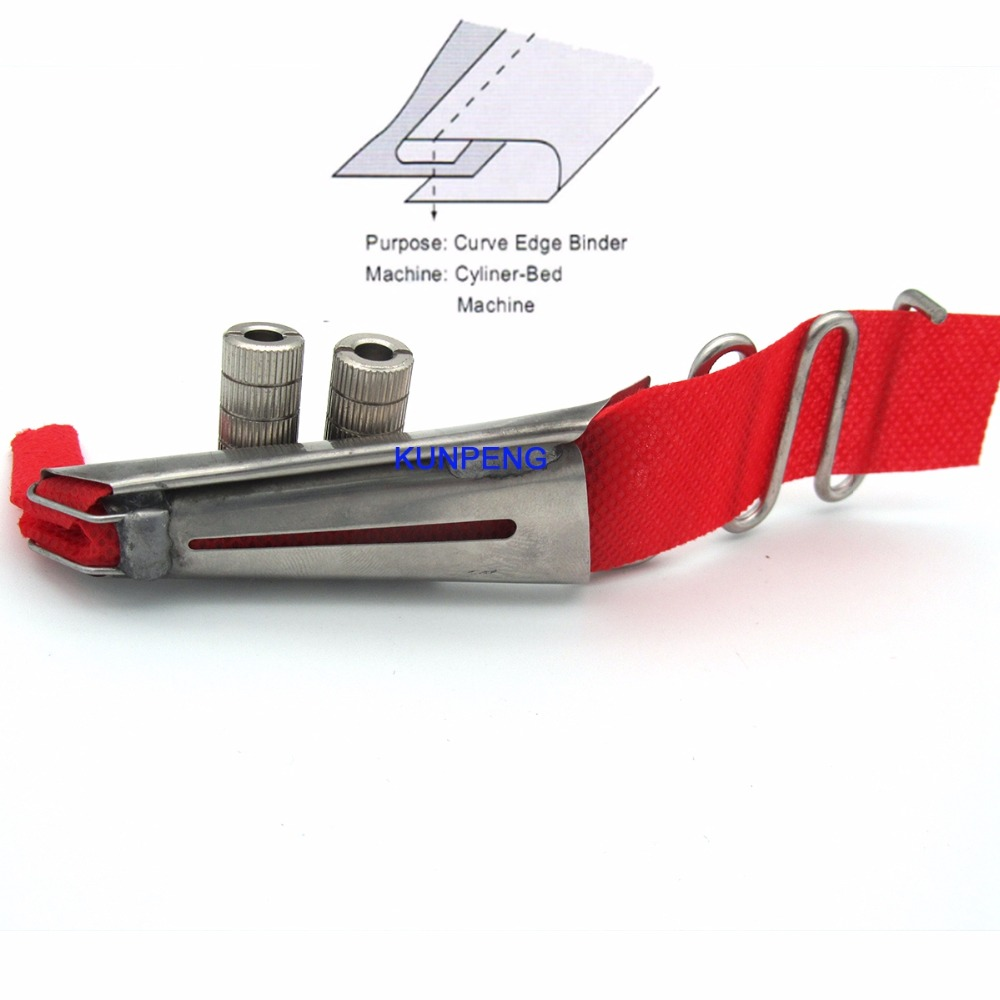 1PCS TOP Double Fold Binder Fit For PFAFF 335 Durkopp Adler 69, 269 CYLINDER Machines