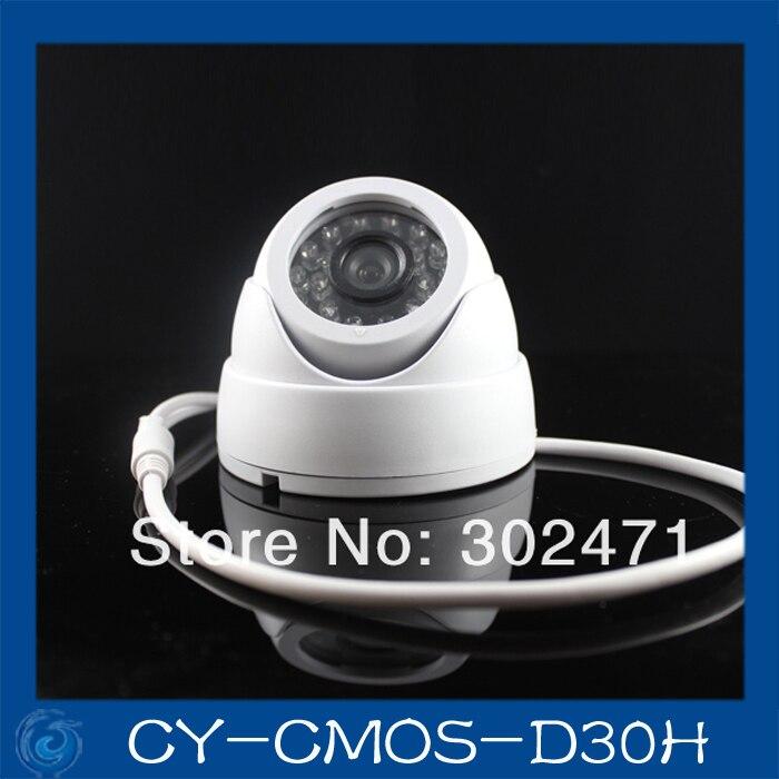 1/3 CMOS 960H  800TVL PC1099 3.6mm lens  Night Vision Color IR Indoor Metal Dome CCTV Camera. CY-CMOS-D30H1/3 CMOS 960H  800TVL PC1099 3.6mm lens  Night Vision Color IR Indoor Metal Dome CCTV Camera. CY-CMOS-D30H