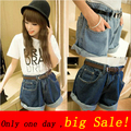 fashion 2017 summer women shorts plus size denim shorts big size high waist shorts jeans short European size hot clothing