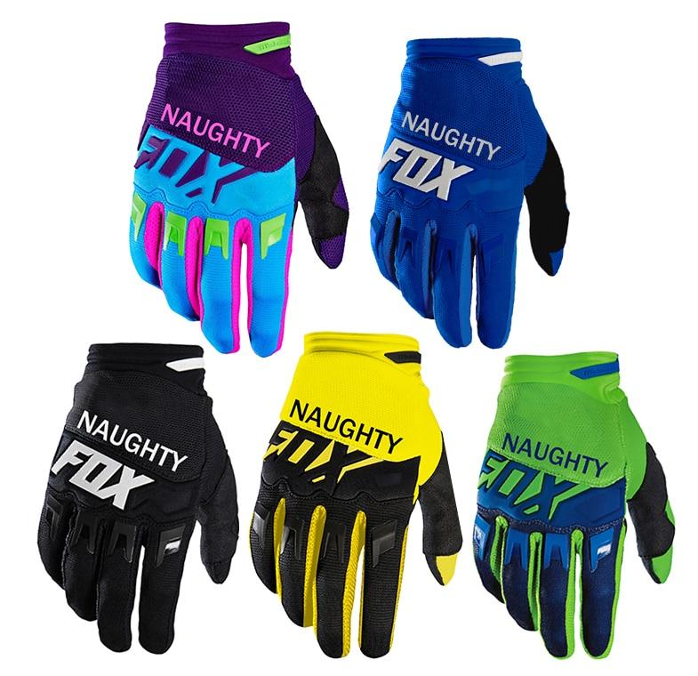 MTB Motocross Cycling Dirt Bike Gloves On-slip Shockproof 360 Dirtpaw Bicycle Gloves Luvas