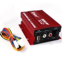 Kinter Auto Power Subwoofer Verstärker Auto Audio Stereo Verstärker Hallo-fi 12 V 2CH USB Mini Digitale Motorrad/Boot/ MP3/MP4/CD