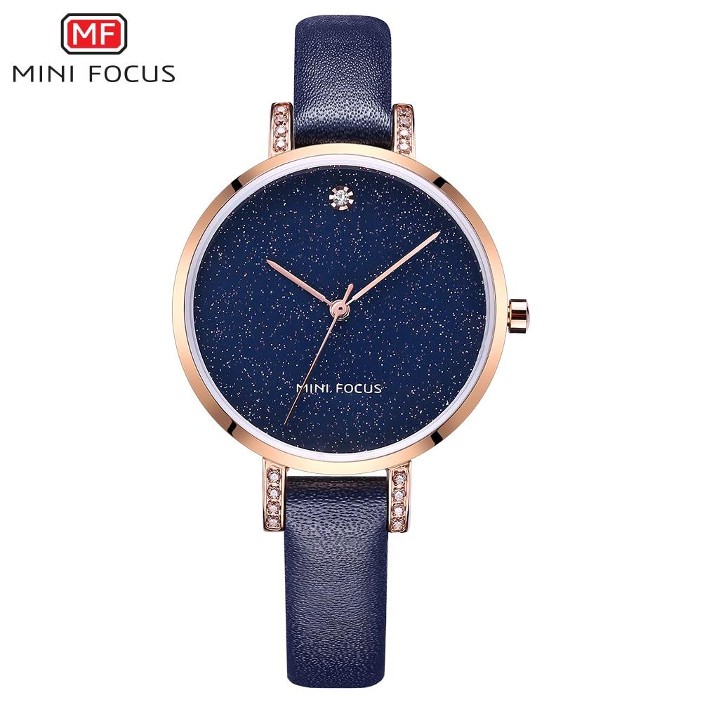 MINI FOCUS Mode Quartz Horloge Vrouwen Horloges Dames Meisjes - Dameshorloges - Foto 1