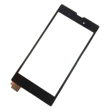 WHITE Black Touch Screen Digitizer Front Glass display Part For Sony Xperia T3 M50W D5102 D5103 D5106 FC_Sony_T3_TouchScreen