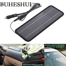 BUHESHUI 18V 4 5W Portable Solar Panel Charger For 12V Car Boat Motor Battery Charger Solar