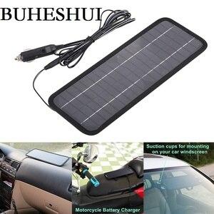 Image 1 - Buheshui 12 v 자동차 보트 모터 배터리 충전기 태양 전지 패널 충전기에 대 한 18 v 4.5 w 휴대용 태양 전지 패널 충전기 무료 배송
