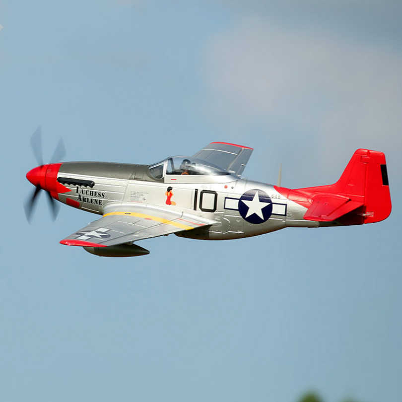 Fms Rc Airplane Plane 1450mm 1 4m P51 P 51d Mustang V8 Red Tail 6ch 4s Pnp Big Model Hobby Plane Aircraft Warbird Avion Epo