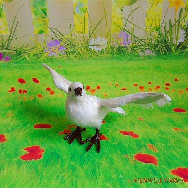 new simulation wings dove model toy polyethylene & furs peace dove doll gift about 34x18x23CM 280 simulation chicken 38x16x42cm toy model polyethylene