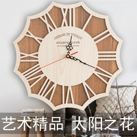 2017 Horloge Murale Sale New Arrival Large Wall Clock Duvar Saati Reloj Art Nordic Style Wood
