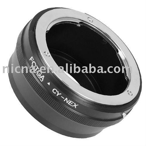Anillo adaptador de Fotga para CY lente para Sony NEX-3 NEX-5 E anillo adaptador de montaje de latón venta al por mayor del oem