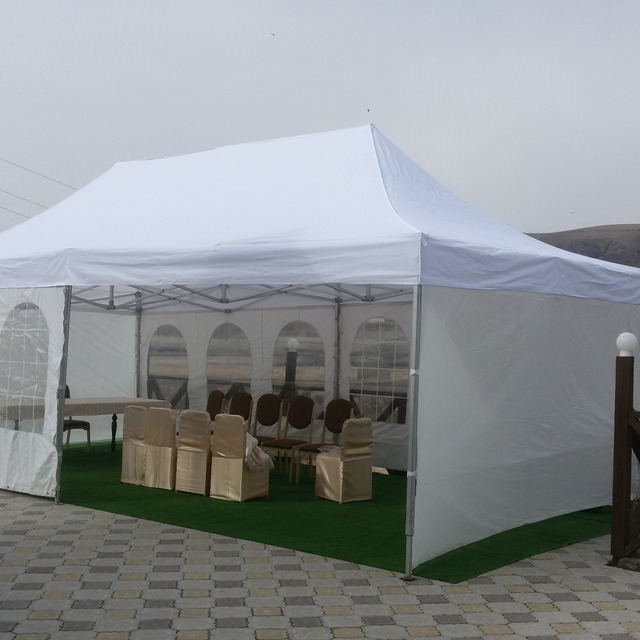 4*8 m soleil ombrage tenda/jardin gazebo/tente pliante/grand gazebo ...
