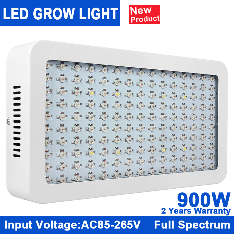 1Pcs Grow Lights Full Spectrum 900W Indoor Plant Lamp For Plants Vegs Hydroponics System Grow/Bloom Flowering Free Shipping