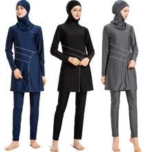 Women Muslim Swimwear Islamic Swimsuit Hijab Full Cover Swimming Beachwear Suit