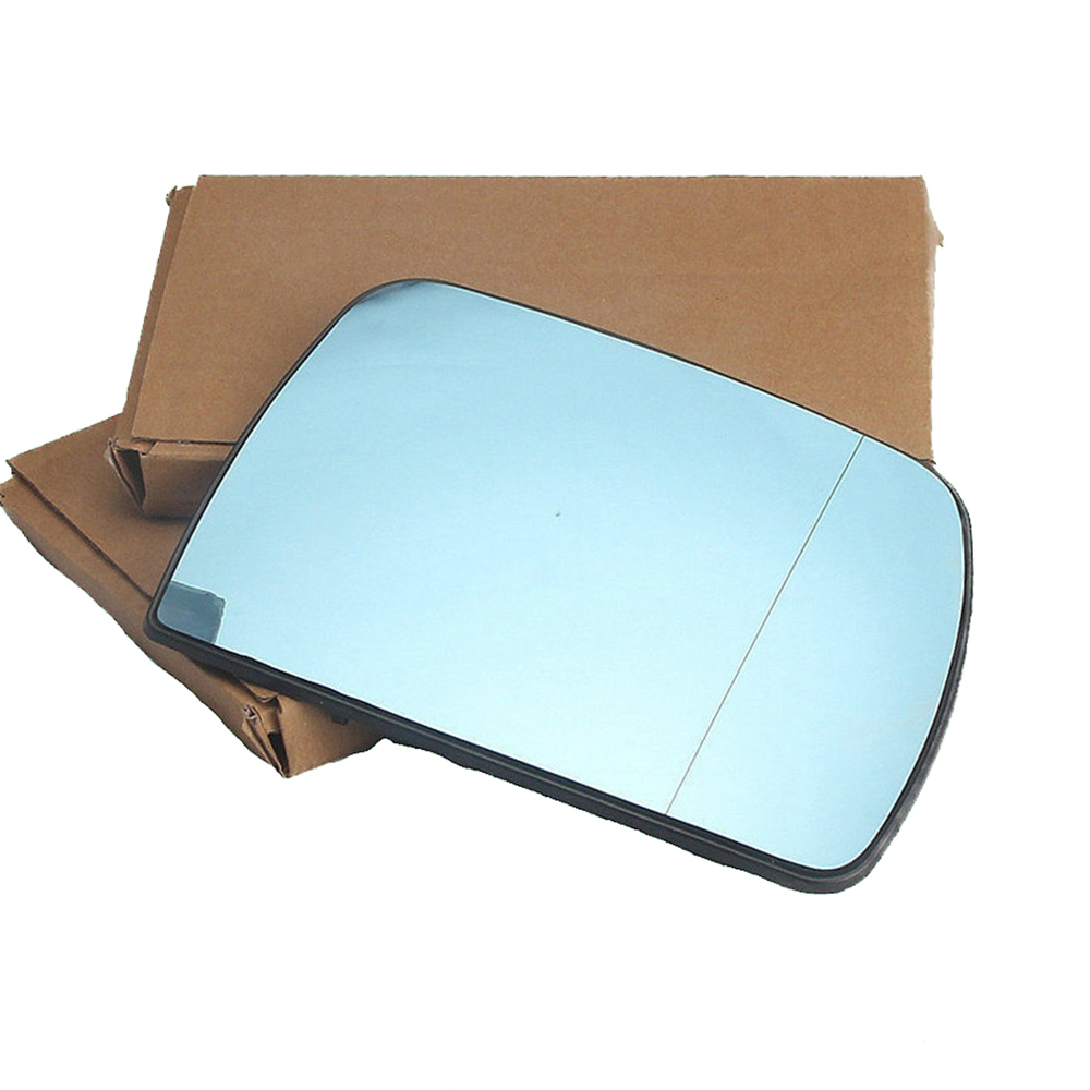 Image 4 - Blue Pair Front Left Right Side Wing Mirror Glass With Heated For BMW X5 E53 00 06 51 16 7 039597 51 16 7 039598 51167039597-in Mirror & Covers from Automobiles & Motorcycles