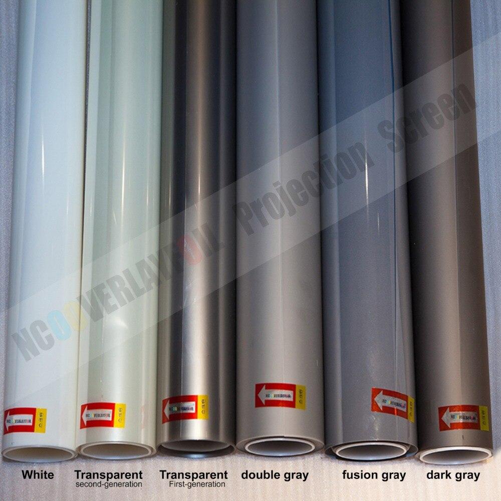 1x1,524 метров прозрачная голографическая пленка задняя проекция Высокое разрешение пленки и высокая контрастность