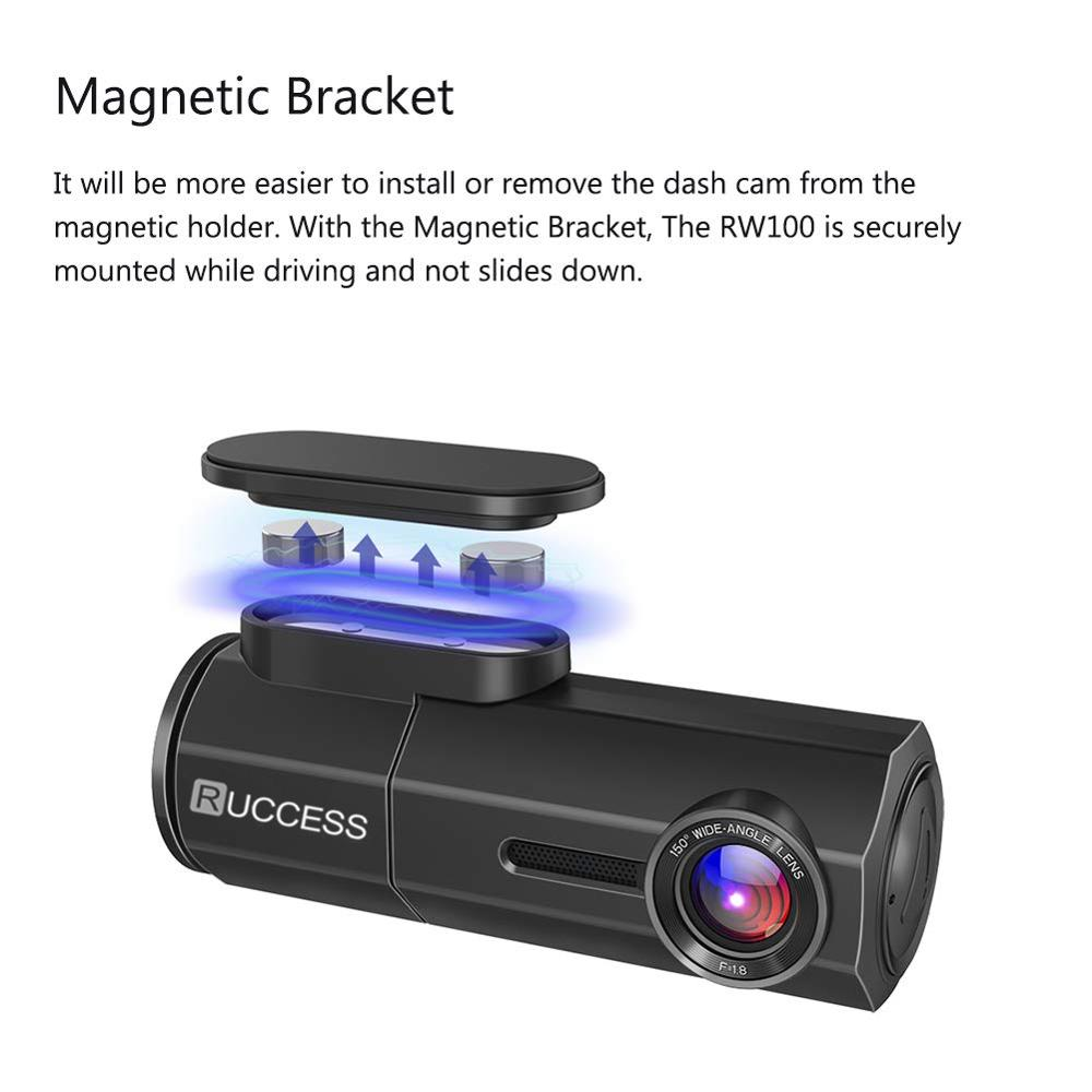 Image 3 - RUCCESS CAR DVR Full HD 1080P Dash Cam with WIFI Car Camera Recorder 24H Parking Monitor Night Vision English/Russia Version-in DVR/Dash Camera from Automobiles & Motorcycles