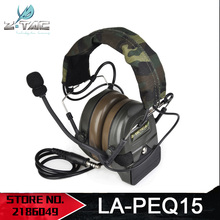 Z tactical Airsoft Comtac Z054 zComtac ICH Headset Style Tactical Headset OD Helmet Noise Canceling Headphone