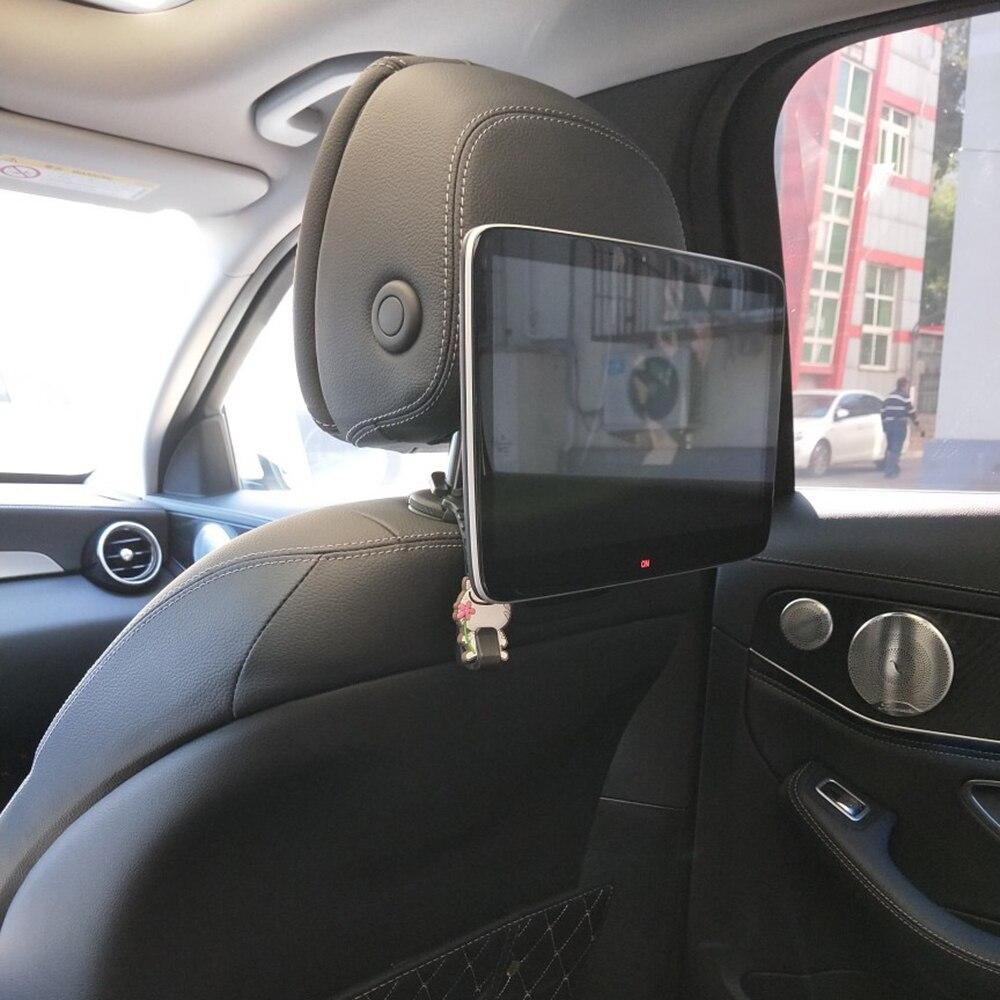 2 pièces tout nouveau véhicule bébé sécurité drôle appuie-tête écran FM IR Wi-Fi voiture siège arrière LCD TV moniteur pour Mercedes tout modèle de voiture