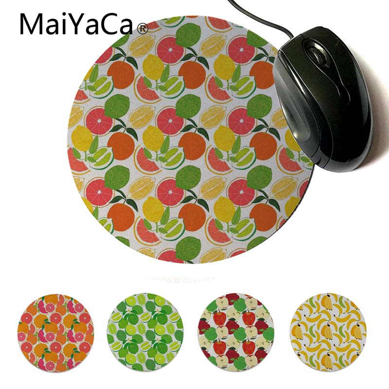 MaiYaCa Cool Nieuwe Grapefruit Citrus Oogst Laptop Gaming Muizen Mousepad Aangepaste Muismatten Computer Laptop Anime Muis Mat