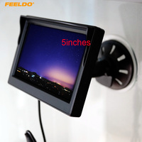 5inch Digital Display Windshield 5 LCD Car Monitor For Reversing Backup Camera DVD VCR 4574