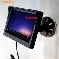 5inch Digital Display Windshield 5 LCD Car Monitor For Reversing Backup Camera DVD VCR 4574
