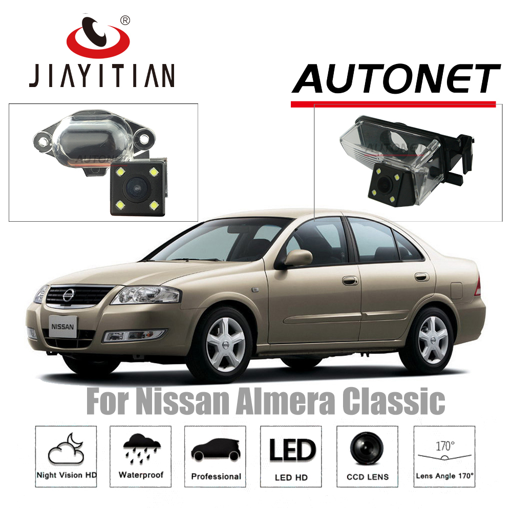 JIAYITIAN RearView Camera for Nissan Almera Classic 2006~2013/backup Camera/CCD Night Vision/Reverse Camera/License Plate camera чехол seintex 84861 nissan almera classic b10 2006 2013 black