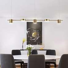 Ультрапростая люстра в скандинавском стиле Современная ресторанная